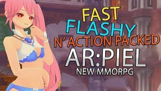 Arpiel Online - The New Action Anime MMORPG, English Release Soon?