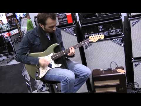 Musikmesse 2012 - Fender American Standard Stratocaster 2012