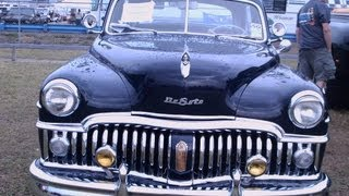 1950 DeSoto Custom Four Door Sedan Blu DaytonaSpdwy032413