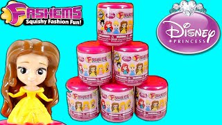 Disney Princess Fashems – 6 Fash'ems Blind Bag Surprise Opening!