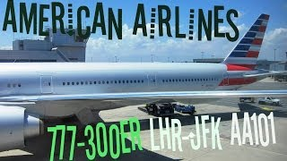 Dantorp Review | American Airlines 777-300ER Economy Class LHR-JFK
