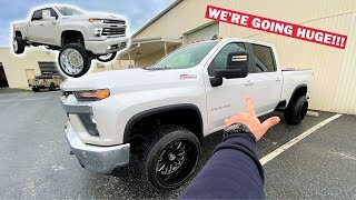 I Bought an INSANE $12,000 LIFT KIT For My 2020 Duramax... Ft. Calling the Jeep Winner!!!
