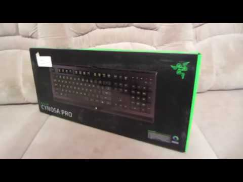 «Распаковка Клавиатура проводная Razer Cynosa Pro из Rozetka.com.ua»