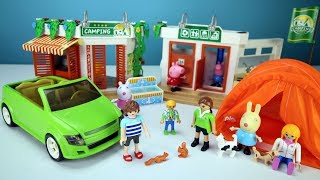 Playmobil Summer Fun Camp Site Build and Play Playset Toys For Kids