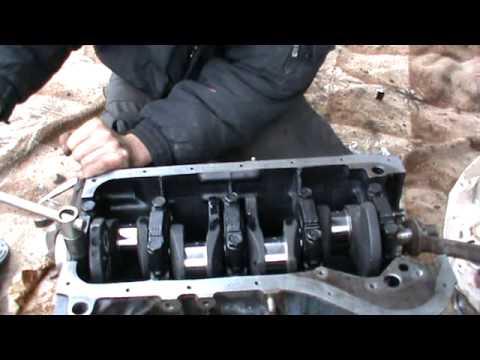 Сборка двигателя ВАЗ 2106 (Нива) часть 1. Сделай Сам!