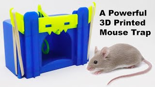 A Powerful 3D Printed Mouse Trap - Q&A - How Many Mousetrap Do I Own? Mousetrap Monday