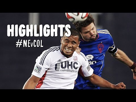 HIGHLIGHTS: New England Revolution vs. Colorado Rapids | July 30, 2014 klip izle