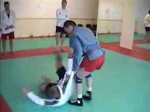 Sambo Technique - Simple Takedown Image 1