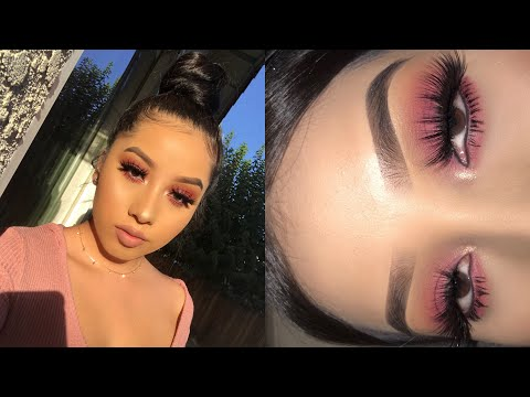 Soft And Easy Berry Makeup Tutorial   Jocy Reyes