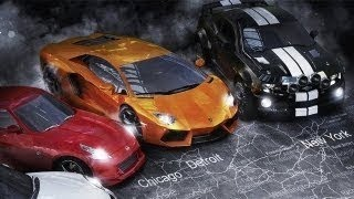 The Crew GAMEPLAY Ubisoft Game - E3 2013