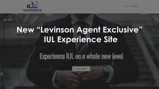 IUL Experience Rollout +Top IUL Presentation Software