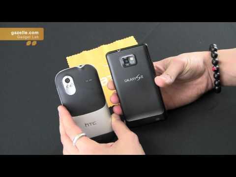 HTC Amaze 4G vs. Samsung Galaxy SII Review - by GazelleLab