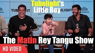 The Matin Rey Tangu Show With Salman khan And Kabir Khan | Fun Night With Tubelight