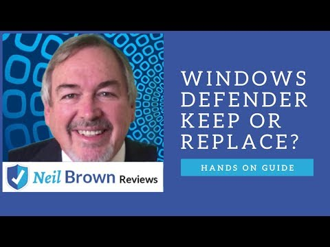 Windows Defender Review: Keep or Replace with McAfee?