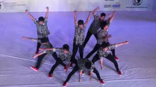India hip hop dance championship 2017 live season 6