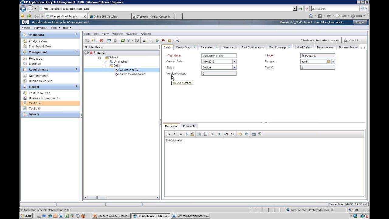 hp quality center software testing 3279987 - salonurody