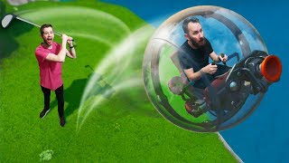Playing Golf With BALLERS!   Fortnite