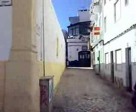 Walk down the main street in Alvor