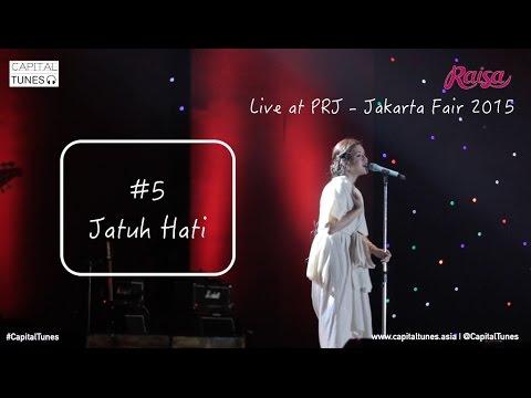 RAISA - Jatuh Hati / Live at PRJ 2015 / Capital Tunes 57