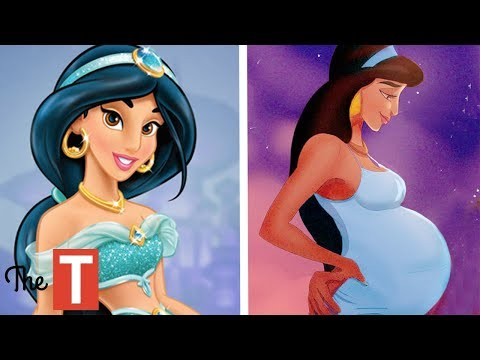10 Disney Princesses Reimagined As Parents Elsa Jasmine Pocahontas