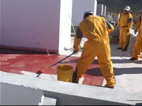 Impermeabilizante sika acril techo youtube - Impermeabilizantes para terrazas ...