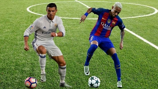 Cristiano Ronaldo vs Neymar Jr. 2017 - Magic Skills & Goals ● HD