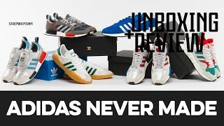 UNBOXING+REVIEW - Adidas 'Never Made' Pack