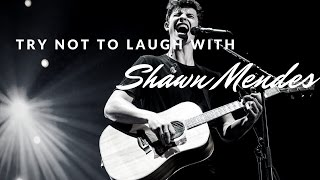 Download Lagu Try not to laugh with Shawn Mendes Gratis STAFABAND
