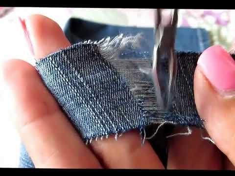 Como romper tus jeans