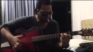 Bassbaba Sumon - This is how you slap in acoustic guitar..