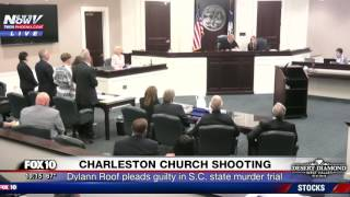 FNN: Dylann Roof Pleads Guilty in Exchange for Life - Charleston Church Shooting STATE Trial