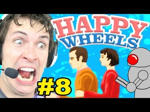 Happy Wheels - FREAKING ROBOT - Part 8