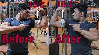 Advance Level Biceps-Triceps Workout | Add 1+ Inch to Your Arms