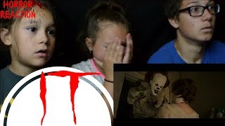 IT - Official Trailer 1 Reaction!!! 🎈 Kids React to IT