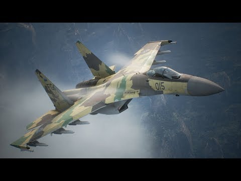 Ace Combat 7: Skies Unknown - Full Demo Walkthrough running on PS4