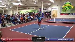 Pickleball Challenge Cup 2019 Vivienne David VS Irina Tereschenko Women's Singles