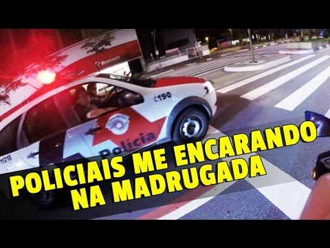 IBRAH DA FZ6 - POLICIAIS ENCARANDO PARA ME ABORDA !!!