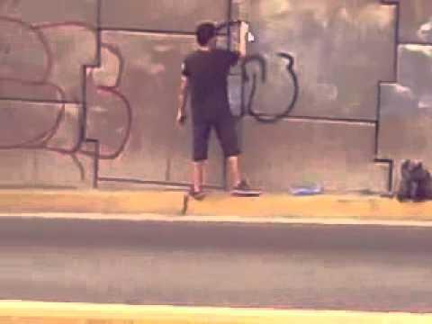 Invacion ilegal graffity el salvador