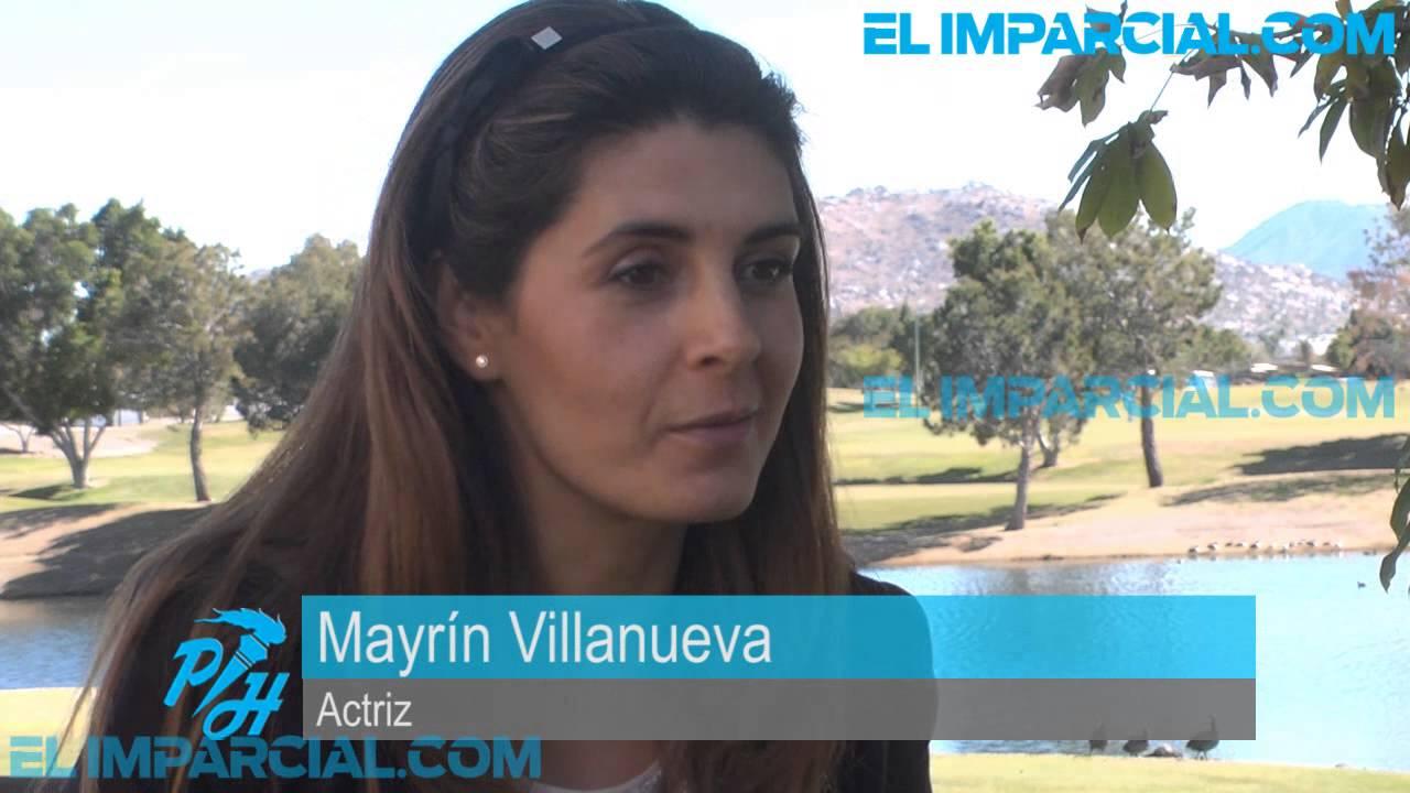 Entrevista con Mayrín Villanueva - YouTube