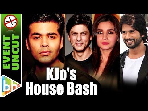 Karan Johar House Bash | Shah Rukh | Varun | Alia | Kareena | Shahid | Aishwarya | Event Uncut