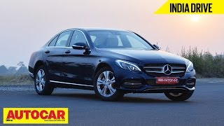 2014 Mercedes-Benz C Class C200 | India Drive Video Review | Autocar India