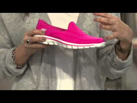 Skechers GOwalk 2 Slip-on Walking Sneakers - Supersock with Leah Williams