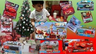 Christmas Morning 2015  Present Opening Toys Thomas Trackmaster Disney Cars Paw Patrol