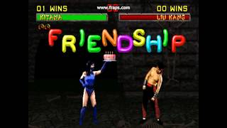 Mortal Kombat 2 - The Friendships (Arcade - 1993)
