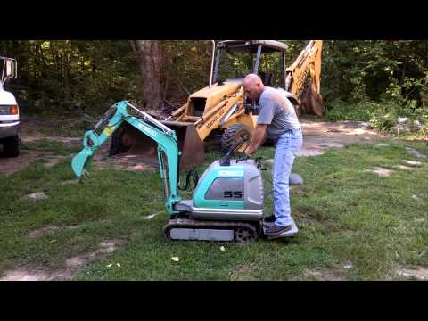 Kobelco mini micro Excavator SS1
