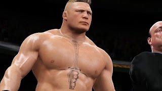 WWE 2K17 - L'entrée de Brock Lesnar (PS4 / Xbox One)