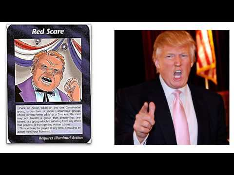 Illuminati Games 2016: Donald Trump The Red Scare Conspiracy Reveled