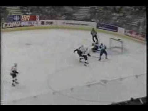 Memorable Mats Sundin Playoff Goals - April 13th 2001 Video