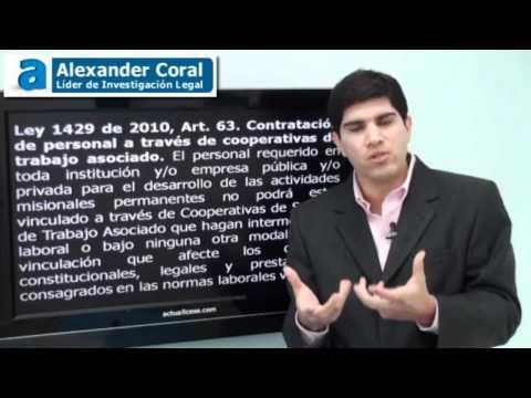 Nueva Ley 1450 de 2011 parte 1/2