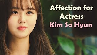 [Eng Sub] Affection For Actress Kim So Hyun (Feat. Male Celebrities)